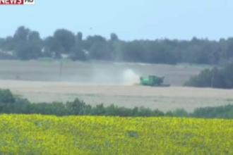 Catastrofa aviatica din Ucraina: Fermierii au inceput sa intre cu utilajele pe camp, fara sa le pese de ramasite si dovezi