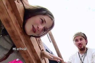 Zeci de mii de turisti, veniti din toate colturile lumii, petrec la faimosul festival medieval de la Sighisoara