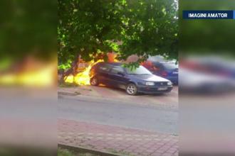 Trei muncitori nepriceputi au provocat o explozie care a distrus 3 masini: