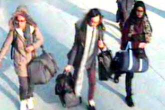 Ce s-a intamplat cu cele trei adolescente britanice fugite din februarie in Siria. Unde se afla in acest moment
