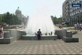 Valul de caldura topeste tarile balcanice. Ungaria, Serbia si Bosnia se confrunta cu arsita greu de suportat