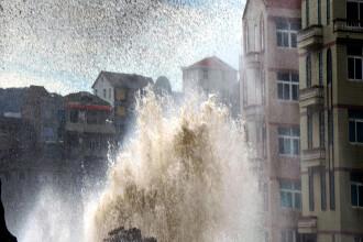 Cod albastru in China, dupa ce a fost anuntata alerta meteorologica. Taifunul Swan va ajunge in Marea Chinei de Est