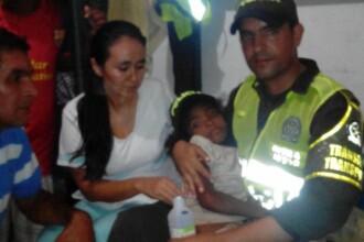 O fetita de 7 ani din Columbia, a supravietuit 17 zile, singura in jungla. Cum a fost gasita