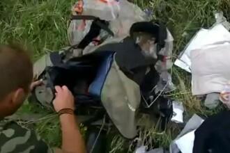 Zborul MH17: Inregistrare video socanta, atribuita separatistilor.