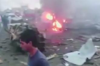 Cel mai sangeros atac ISIS. Peste 120 de oameni, printre care mai multi copii, ucisi intr-un atentat cu 3 tone de explozibil