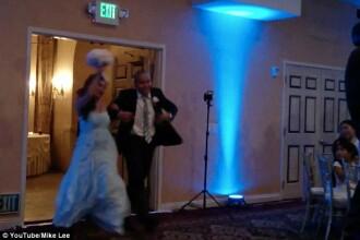 Cel mai dezastruos dans de la nunta.
