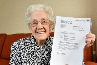 Medicii au anuntat-o ca este insarcinata, desi are aproape 100 de ani. Eroarea comisa la un spital din Marea Britanie