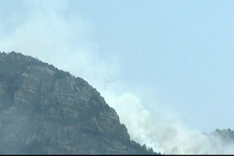 Canicula face ravagii pe coasta dalmata. Sute de pompieri incearca sa stinga incendiile de vegetatie din Croatia
