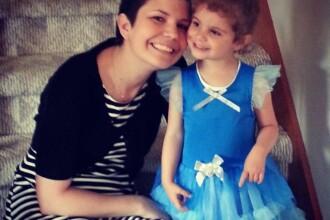 Gestul emotionant pe care l-a facut o mama bolnava de cancer, in faza terminala, pentru fiica ei de 4 ani