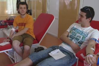 500 de oameni au platit cu sange pentru un bilet la Untold si au lasat centrul de transfuzii din Cluj fara spatiu de stocare