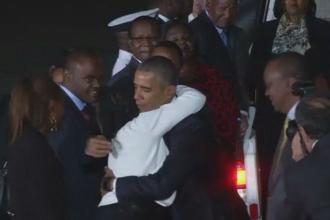 Barack Obama, vizita in Kenya, tara natala a tatalui sau. Presedintele a luat masa cu zeci de membri ai familiei sale