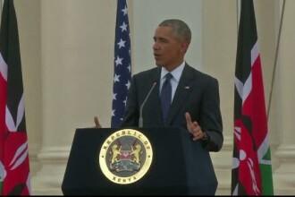 Laude, dar si cateva critici la adresa presedintelui din Kenya. Mesajul lui Obama pentru tara in care tatal sau s-a nascut
