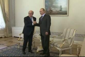 Promisiunea facuta de presedintele demisionar al FIFA lui Vladimir Putin. Unde va avea loc campionatul mondial de fotbal