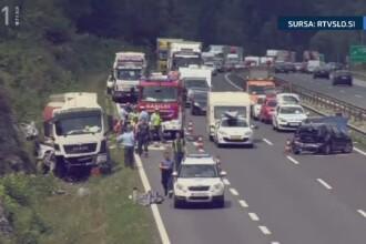 Soferul cisternei care a omorat o intreaga familie de romani in Slovenia, s-a sinucis