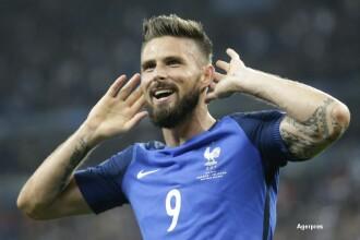 Franta-Islanda 5-2. Francezii au stabilit un record la UEFA EURO in prima repriza. Programul meciurilor din semifinale. VIDEO