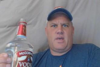 Ce s-a intamplat cu acest barbat dupa ce a baut o sticla de votca de 1,75 litri deodata. Totul a fost filmat