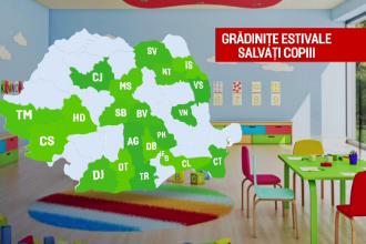 Gradinite deschise pe timpul verii pentru copiii din familiile defavorizate. Statistica ingrijoratoare pentru Romania
