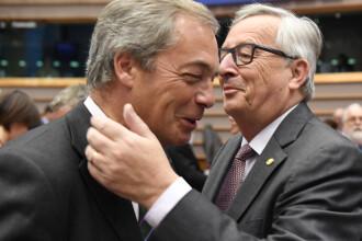 Atac dur lansat de presedintele Comisiei Europene: Boris Johnson si Nigel Farage sunt lideri lasi si lipsiti de patriotism