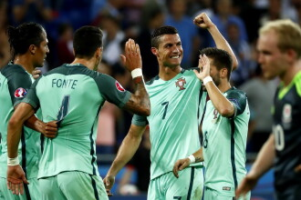 PORTUGALIA - TARA GALILOR 2-0. Ronaldo si Nani, calificati in FINALA EURO 2016 cu 2 goluri in 3 minute. REZUMAT VIDEO
