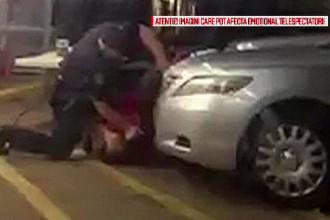Proteste in SUA si acuzatii de rasism dupa ce un politist a impuscat un barbat de culoare. Imaginile surprinse de un martor