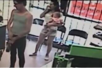 Imagini stupefiante. Ce pateste o fetita de 4 ani intr-un magazin, in timp ce mama ei statea la coada