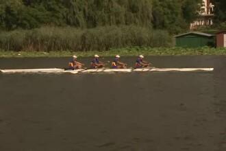 Probleme pentru lotul olimpic de canotaj. Sportivii nu se pot antrena din cauza salupelor de viteza de pe Lacul Snagov