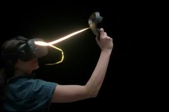 Gadgeturile pentru realitatea virtuala incep sa depaseasca domeniul jocurilor. Ce este pensula virtuala si ce poti face cu ea