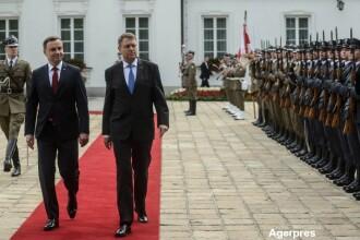 Klaus Iohannis, intalnire cu presedintele Poloniei. Strategia pusa la cale in fata amenintarilor venite din partea Rusiei