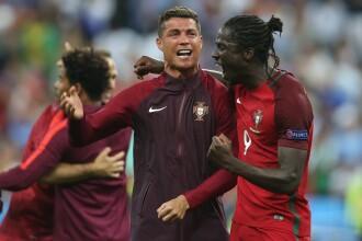 Bucuria portughezilor dupa finala UEFA EURO. Ronaldo: