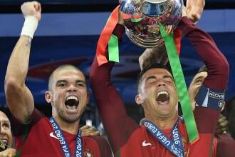PORTUGALIA - FRANTA 1-0. Portughezii au castigat primul titlu european din istorie dupa un meci incredibil. REZUMAT VIDEO