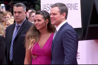 Noul film din seria Bourne a avut premiera in Londra. Matt Damon sustine o politica mai stricta privind posesia armelor