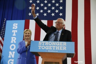 Bernie Sanders a anuntat oficial ca isi sustine fosta rivala, Hillary Clinton. De ce crede ca e