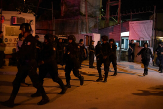 Zece detinuti, printre care si delincventi periculosi, au evadat in Mexic. Trei dintre ei au fugit cu un taxi