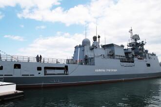 Raspunsul Rusiei la exercitiile NATO din Marea Neagra. Moscova a trimis in zona o nava de razboi noua si avioane de vanatoare