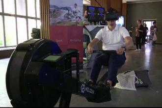 Realitatea virtuala transforma sportul intr-o alta lume. Cele mai noi gadgeturi prezentate la targul din Berlin
