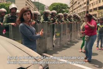 Haos in Venezuela. Oameni rapiti de pe strada pentru cateva sute de dolari. Imaginile surprinse intr-o bacanie din Caracas