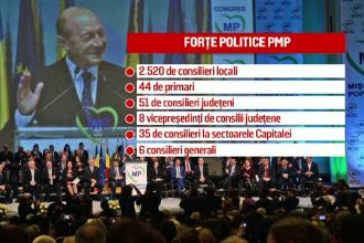 PMP si UNPR si-au oficializat fuziunea. Traian Basescu: