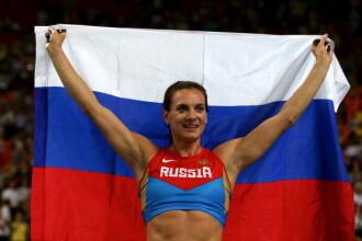 Atletii rusi, interzisi la Jocurile Olimpice de la Rio. Isinbaeva, ironica: