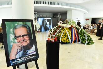 Radu Beligan, inmormantat cu onoruri militare la Cimitirul Bellu.