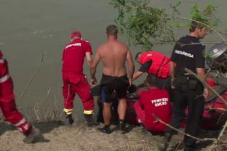 Cadavrele a doi din cei 4 frati inecati in Jiu, recuperate. Fata salvata sustine ca au fost aruncati in apa de un strain