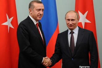 In plin vartej politic la Ankara, Erdogan se reimprieteneste cu Putin. Decizia luata de cei doi, care vizeaza intreaga Europa