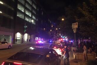 Doua atacuri armate in centrul orasului Austin din Texas. O femeie a fost ucisa, politia inca il cauta pe atacator