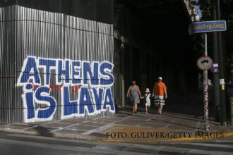 Temperaturi extreme in Grecia si Bulgaria, unde canicula a ucis 5 oameni. Furtuni si ploi, in schimb, in centrul Europei
