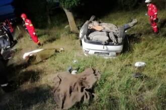 Accident grav in Arad, pe DN79. Trei oameni au murit iar doua femei sunt la spital, cu rani severe