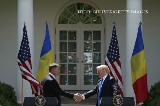 """Președintele Donald Trump i-a dat un mesaj lui Klaus Iohannis: """"Transmit mulțumirile mele"""""""