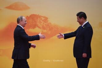 """Putin povestește cum a consumat vodcă cu Xi Jinping. """"Am băut câte un păhărel, am tăiat salam"""""""