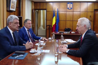 Ambasadorul SUA, intalnire la Guvern cu Mihai Tudose. Premierul: