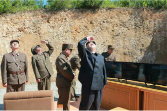 Coreea de Nord ar fi efectuat un nou test de racheta. Proiectilul a cazut in apele japoneze