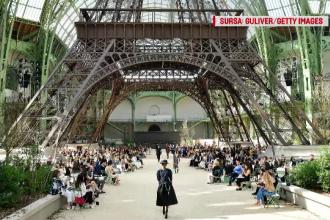 Saptamana Modei de la Paris: Dior a sarbatorit 70 de ani de existenta, iar Channel a realizat o miniatura a Turnului Eiffel