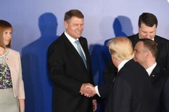 Iohannis anunta ca Romania isi poate reduce dependenta de gazele rusesti cumparand gaze americane. Promisiunea lui Trump